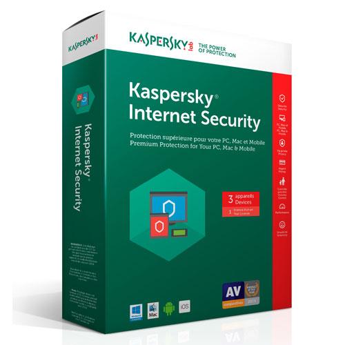 Kaspersky 2017 Security 3 user  12M